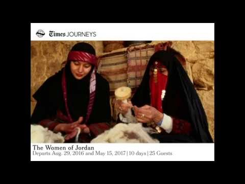 The Women of Jordan Times Journeys Webinar