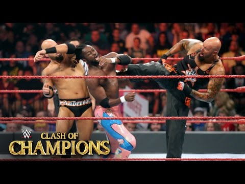 New Day vs. Gallows & Anderson - Raw Tag Team Title Match: WWE Clash of Champions on WWE Network
