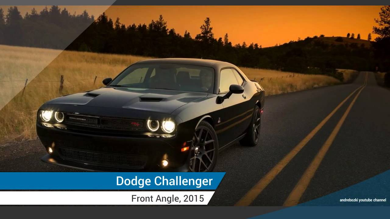 2015 Dodge Challenger Newest Evolution American Muscle Car Youtube