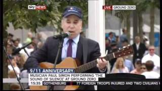 Paul Simon - The Sound of Silence 9/11 Ground Zero [HD]