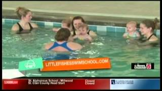 Never Too Soon to Learn to Swim - Little Fishes Swim School on KSDK