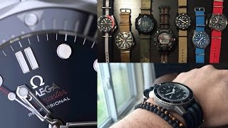 The TJK Viewer Watch Collection Review – Omega, Sinn, Squale, Citizen, G-Shock, Suunto, Seiko