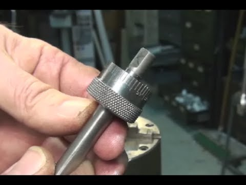 Carriage Stop Thimble Part Three, Using the Dividing Head to Cut the Divisions