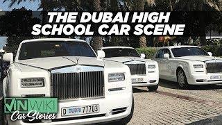 How insane is the high school car scene in Dubai?
