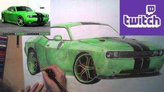 Dodge Challenger 2013 [SpeedDrawing]