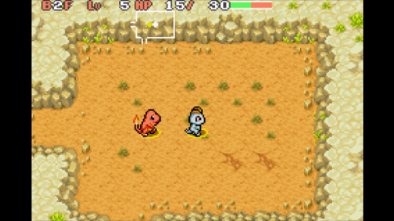 The unseen force in Pokemon Mystery Dungeon (Rescue Team edition)