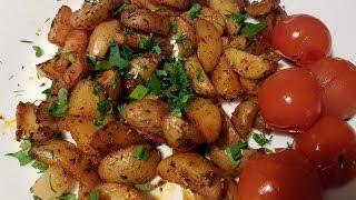 Картофель по-деревенски или айдахо