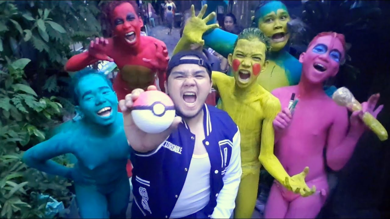 Pokemon Go In Real Life Parody Youtube
