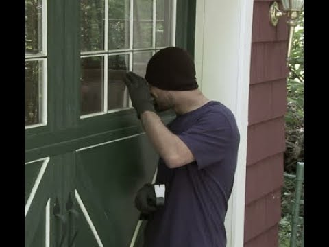 Protect Your Home/Garage/Property From Potential Burglars With Frosted Self Adhesive Film
