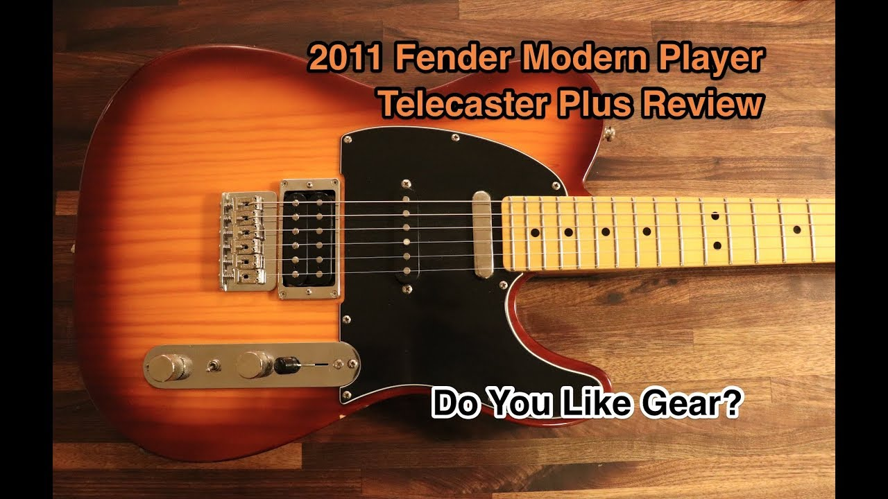 2011 fender modern player telecaster plus review youtube. Black Bedroom Furniture Sets. Home Design Ideas