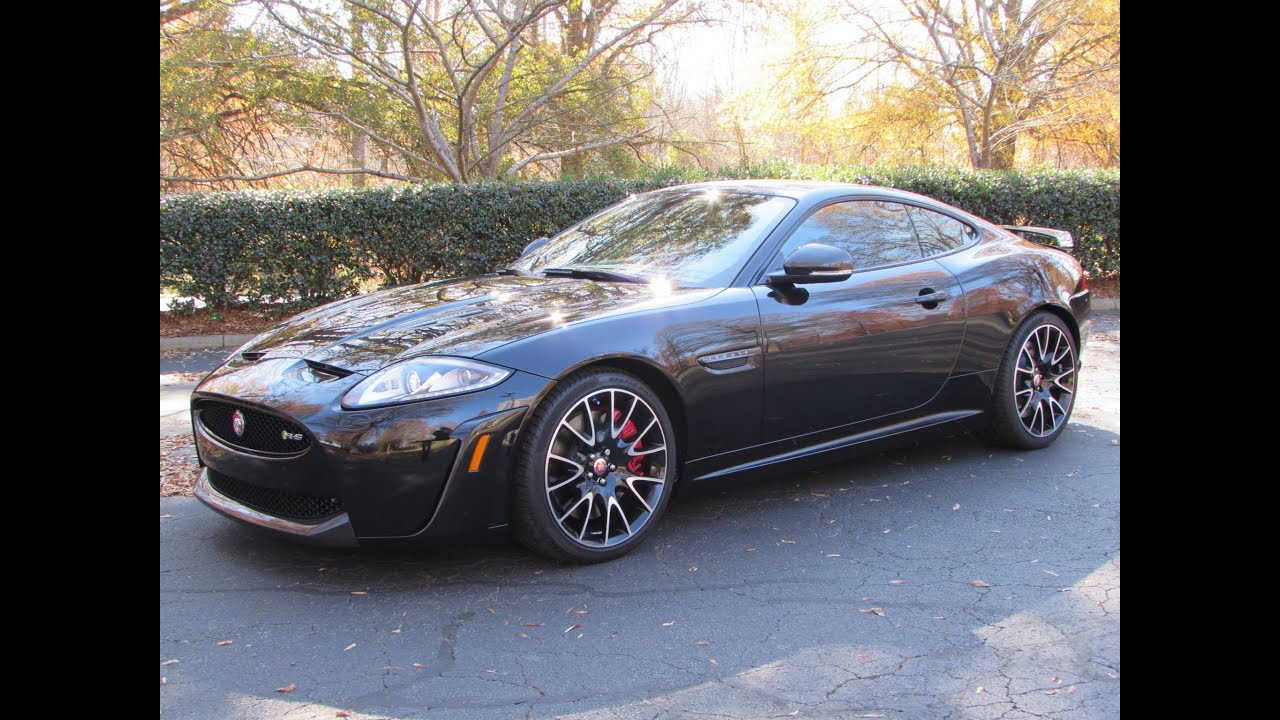 2015 Jaguar XKR S Coupe/Convertible Start Up, Road Test, And In Depth  Review   YouTube