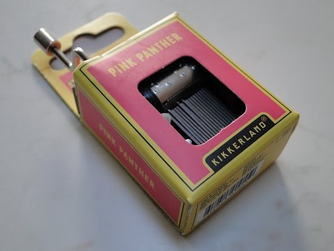 Pink Panther Crank Music Box - Kikkerland