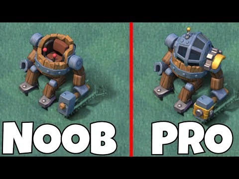 """NEW MAX LVL Builder Master!!! BH9 """"Clash Of Clans"""" How he Fights!"""