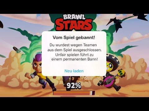 BRAWL STARS BANNT JEDEN DER IN SHOWDOWN TEAMT?!