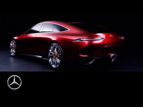 Mercedes-AMG GT Concept – Driving Performance of the future – Mercedes-Benz original