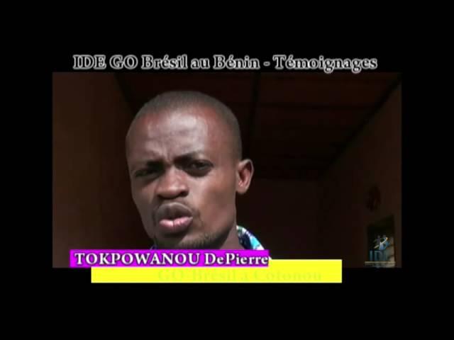 Testemunho Tokpowandou De Pierre Projeto Benin - IDE GO