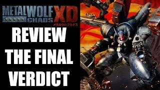 Metal Wolf Chaos XD Review - A Bare-Bones HD Upgrade (Video Game Video Review)