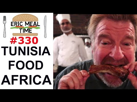 Tunisian Food North Africa - Eric Meal Time #330