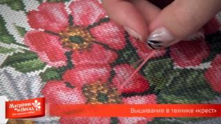 видео Вышивка нитками