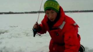 Ice Fishing Slab Crappies-Fishing and Fun with Jonny Fickert-Ohio Outdoors