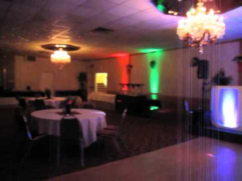 lights and sounds with karaoke setup for this event!