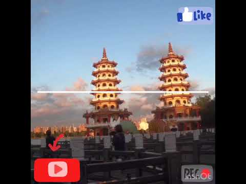 Vlog#04 Dragon and Tiger Pagoda Lotus Pond Zouying Kaohsuing Taiwan