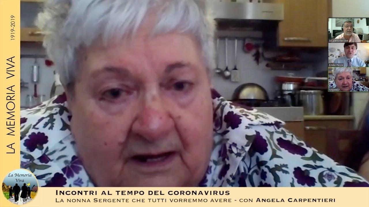 "La ""Nonna Sergente"": Angela Carpentieri"