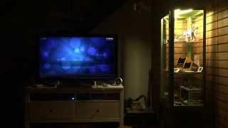 Media-Center-Aware Curio Cabinet