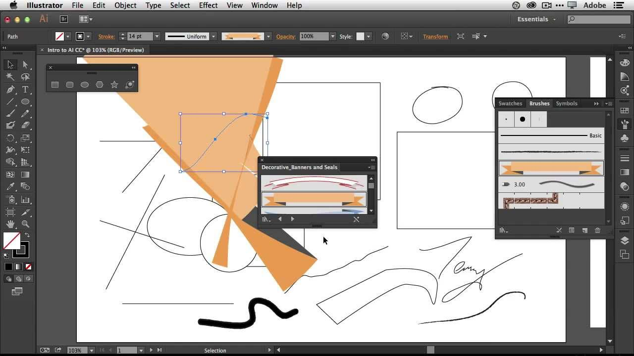 How To Get Started With Adobe Illustrator CC - 10 Things Beginners ...