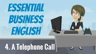 Essential Business English 4 — A Telephone Call
