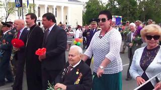 Парад 9 Мая 2017 в Новой Каховке (6 ч.)
