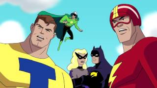 Justice League and Justice Guild vs. Ray