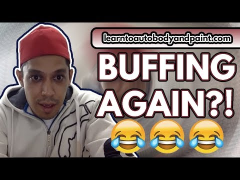 LOL! More Buffing at 2:30 AM Haha - How To Buff Clearcoat