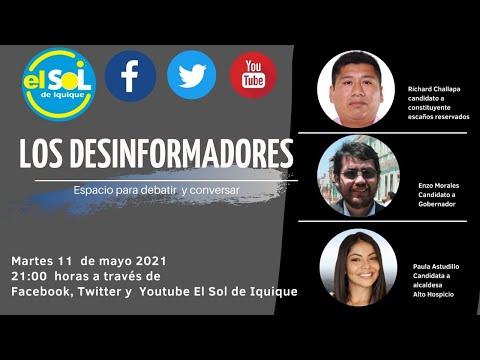 Los Desinformadores martes 11 de mayo 2021