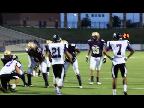Midland High scores a Touchdown against El Paso Franklin