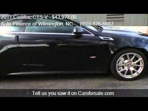 2011 cadillac cts v base 2dr coupe for sale in wilmington n youtube. Black Bedroom Furniture Sets. Home Design Ideas