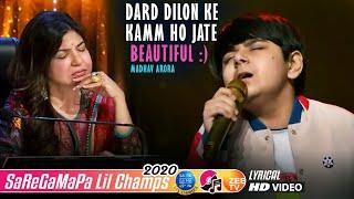 Dard Dilon Ke Kamm Ho Jate - Madhav - Lil Champs 2020 - Javed Ali - Himesh Reshammiya