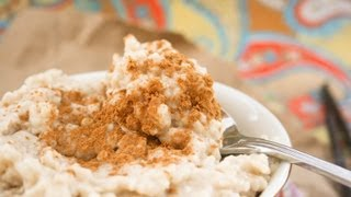 Shir Berinj (persian Rice Pudding) With Soy Milk Or With Normal Milk