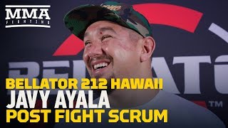 Bellator 212: Javy Ayala Says It
