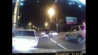 Разборки на дороге в Краснодаре    ВЫ ОЧЕВИДЕЦ