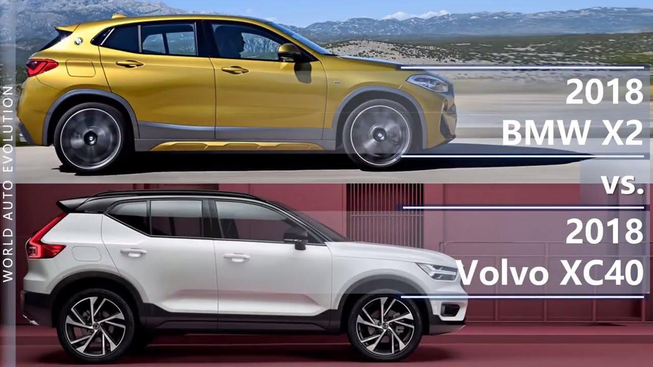 2018 Bmw X2 Vs Volvo Xc40 Technical Comparison Youtube