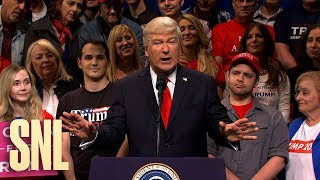 Trump Rally Cold Open  SNL