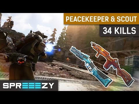 Peacekeeper is INSANE! | 34 Kills | Apex Legends Gameplay