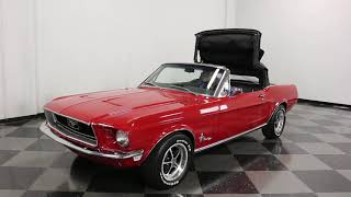 2731 DFW 1968 Ford Mustang