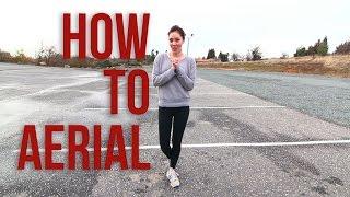 how to do an aerial   cartwheel with no hands   monica miyagi miyagi gymnastics auburn