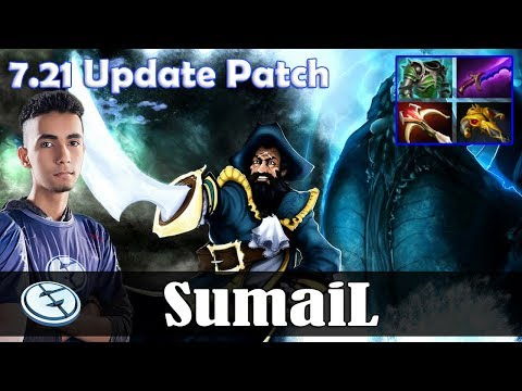 SumaiL - Kunkka MID | with Crit (Troll Warlord) 7.21 Update Patch | Dota 2 Pro MMR Gameplay thumbnail