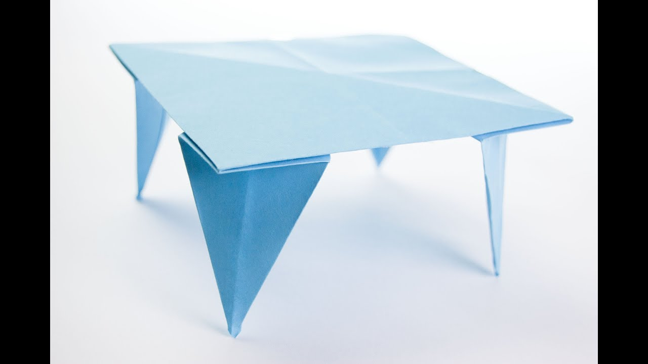 Beau How To Make Origami Table