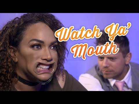 WWE Superstars play Watch Ya' Mouth: WWE Game Night