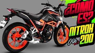 Una moto barata y chida para el uso diario Nitrox 200
