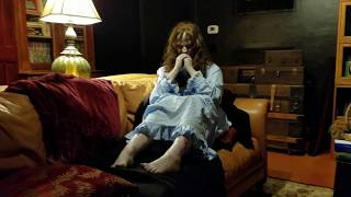 THE EXORCIST LINDA BLAIR LIFE SIZE POSSESSED MOVIE PROP MADE BY THE SCARY CLOSET